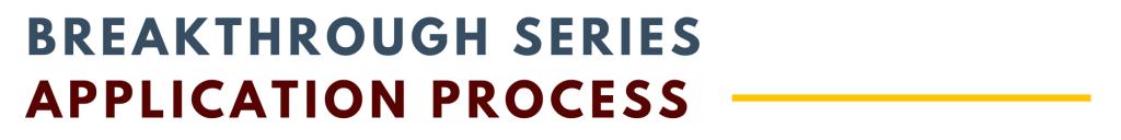 BSC Application Process